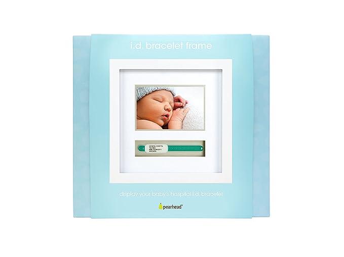 Amazon.com: Pearhead bebé Hospital ID pulsera y recuerdo ...