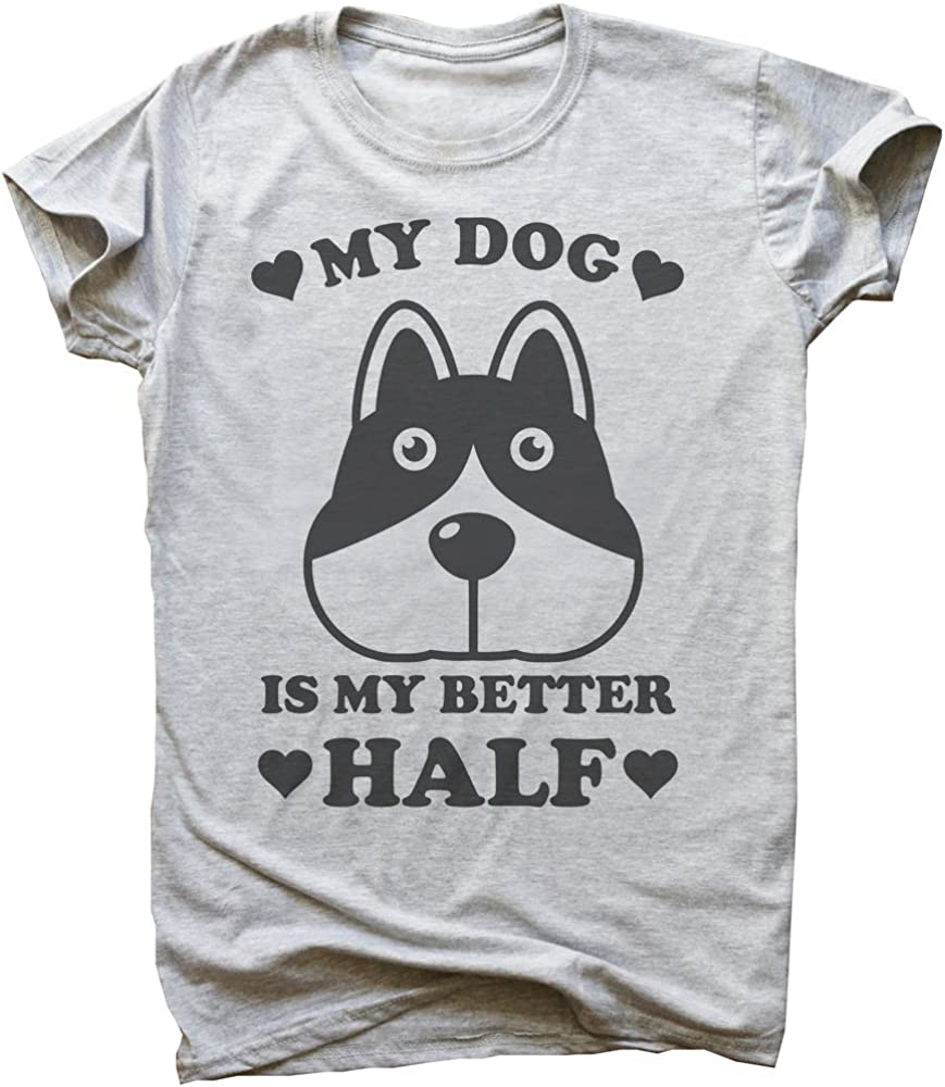 IDcommerce Petting Dogs is My Cardio Funny Cute Dog Design Womens T-Shirt Large White