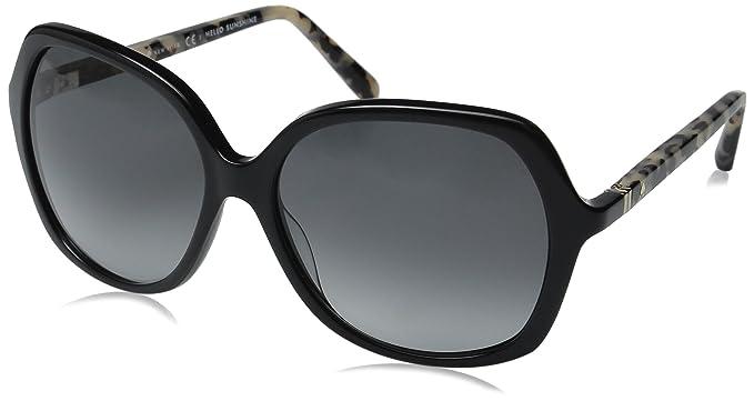 09058558d67ac Kate Spade Women s Jonell Square Sunglasses Black Havana Gray Gradient 58 mm