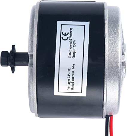24V 250W 14A Electric Scooter Motor 2750RPM Chain Electro Motor for E Scooters
