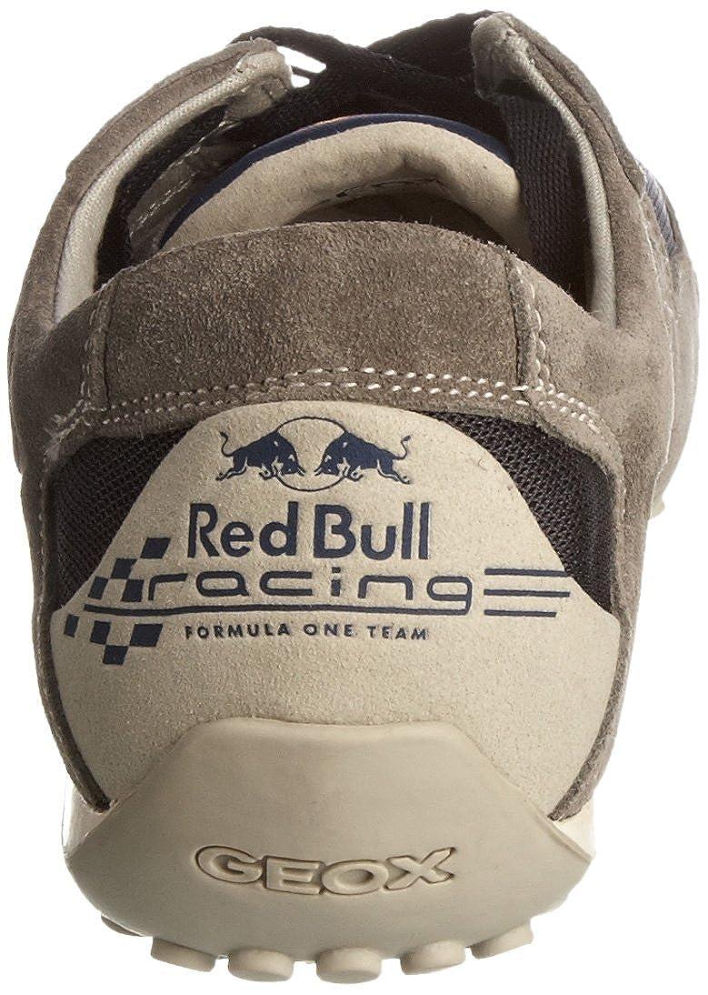 Geox U Snake Red Bull, Grigio grigio: Amazon.it: Scarpe e borse