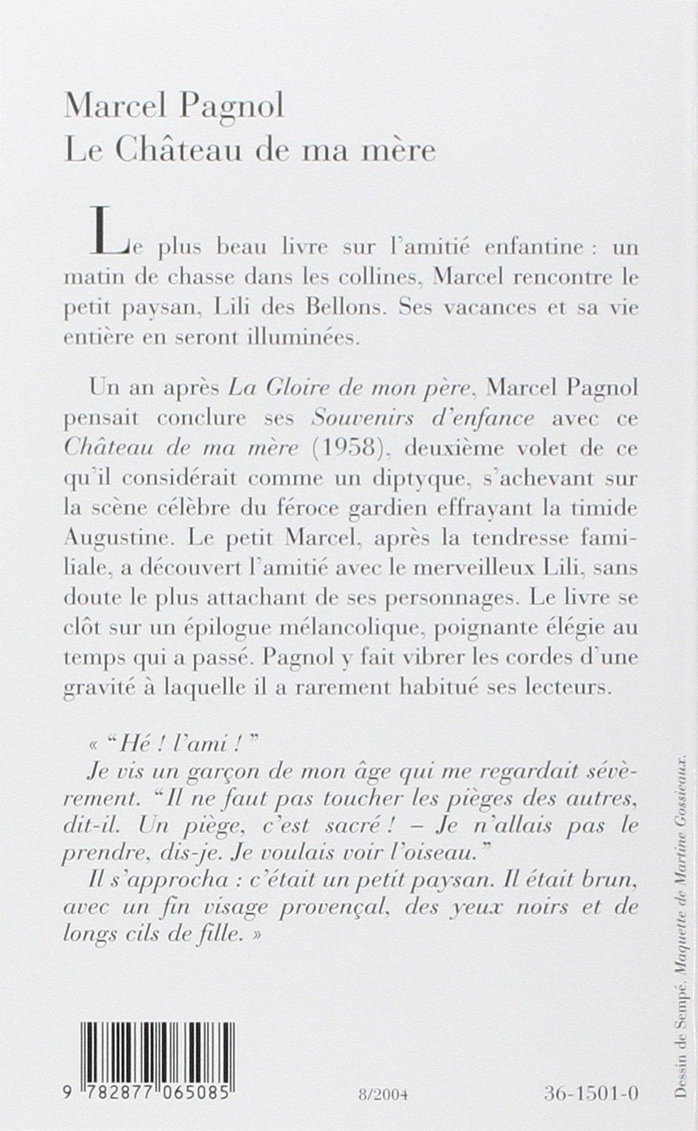 Le Chateau De Ma Mère Fortunio Amazones Marcel Pagnol