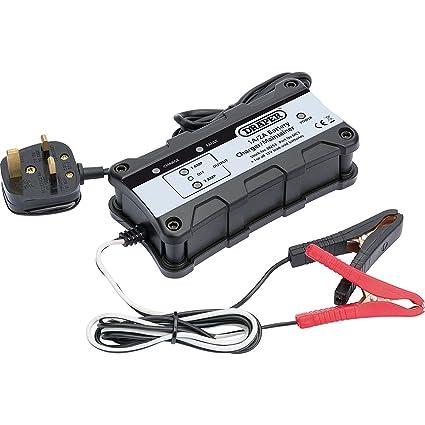 Draper 38253 Cargador/mantenedor de batería, 12 V: Amazon.es ...