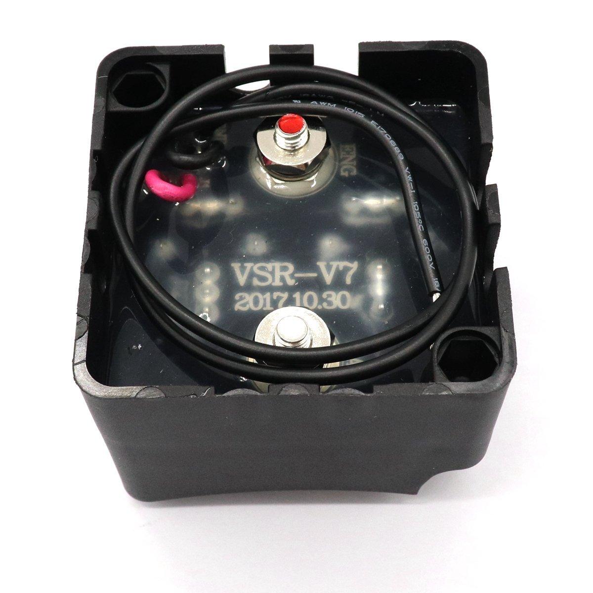 Gloaso Digital Spannung empfindliches Relais 12V VSR 24V DC 140 Ampere