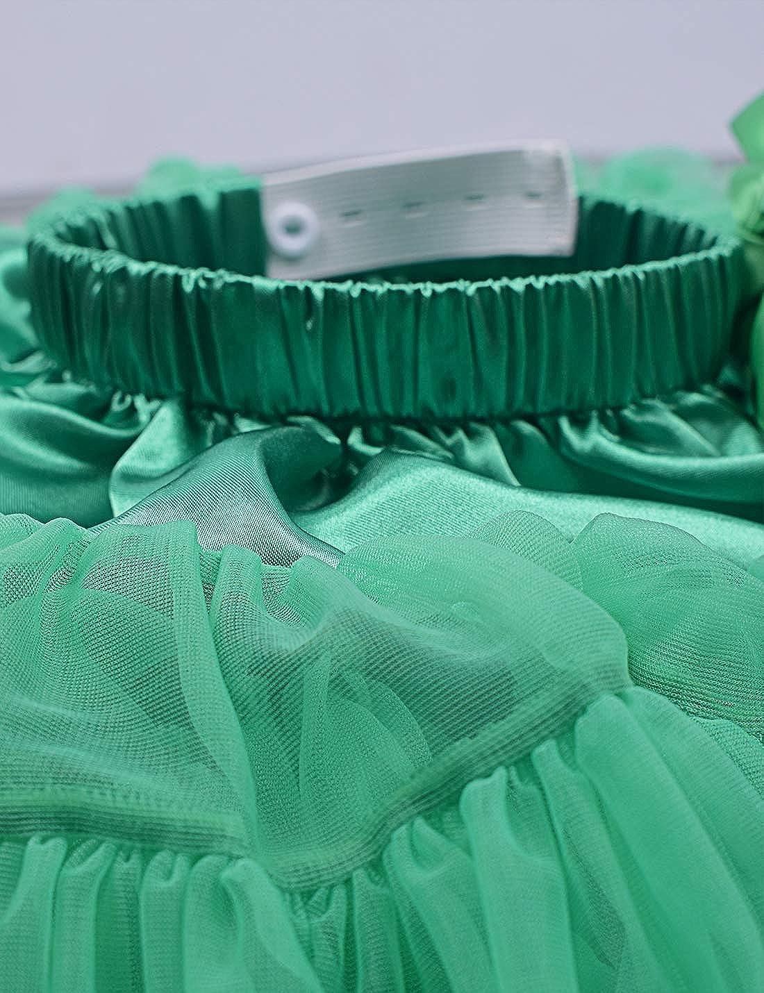 Baby Girls Tutu Skirt Princess Fluffy Soft Tulle Ballet Birthday Party Pettiskirt 9M-8T