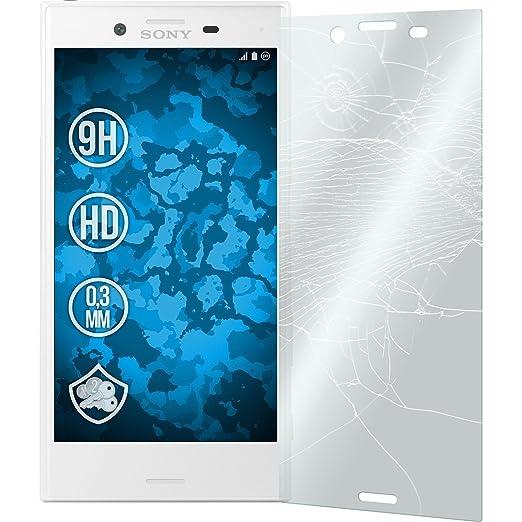 2 opinioni per 2X Pellicola Protettiva Trasparente Per Sony Xperia X Compact PhoneNatic vetro