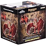 DISCONTINUED Pathfinder Battles Deep Cuts Gargantuan Red Dragon Miniatures