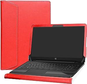 "Alapmk Protective Case Cover for 15.6"" HP Notebook 15 15-daXXXX (Such as 15-DA0012DX 15-DA0014DX)/15-dbXXXX (Such as 15-DB0011DX 15-DB0010NR) Laptop[Not fit 15-bsXXX/15-bwXXX/15-acXXX/15-ayXXX],Red"