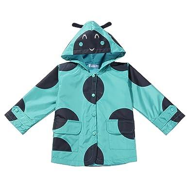 ZEARO ZEARO Regenjacke Kinder Mädchen Regenbekleidung