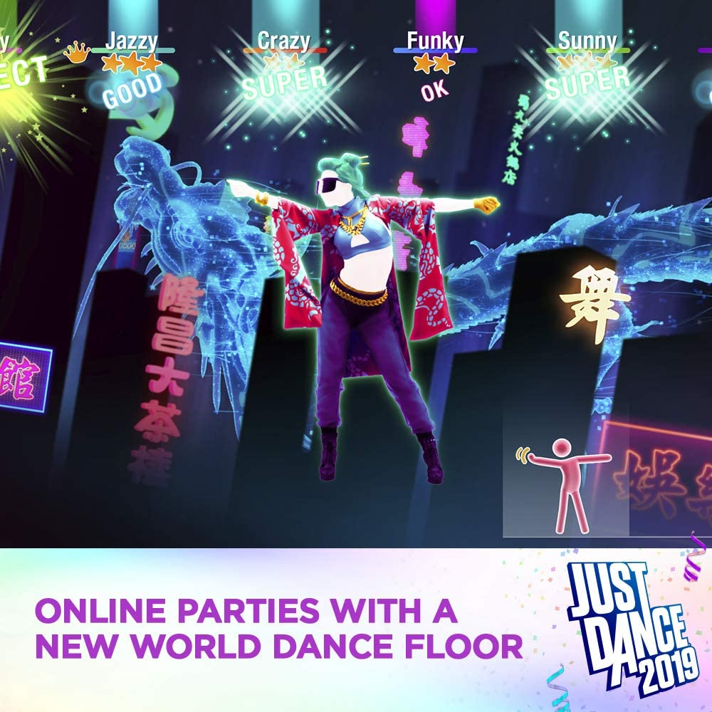 Amazon com: Just Dance 2019 - Wii Standard Edition: Nintendo