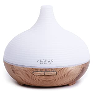 ASAKUKI 300 Ml Premium Essential Oil Diffuser