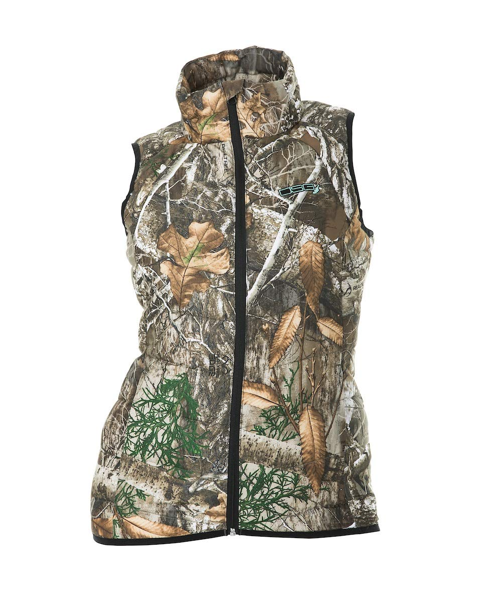 DSG Outerwear Womens Hunting Puffer Vest (Realtree Edge, Large) by DSG Outerwear