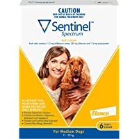 Sentinel Spectrum Tasty Chews for Medium Dogs 11-22kg (Yellow) - 6 Pack
