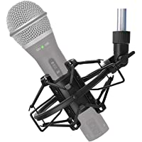 SUNMON Q2U USB/XLR Microphone Shock Mount Holder for Reduces Vibration and Noise, Suitable for Samson Q2U USB/XLR…