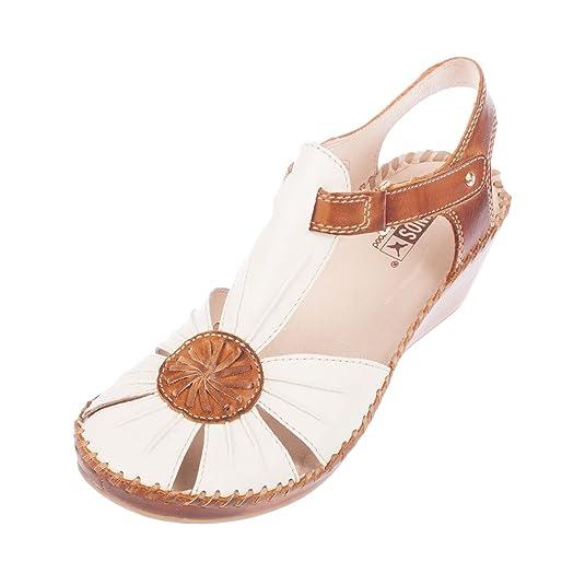 Women's Leather Strap Sandal (943-7618C1)