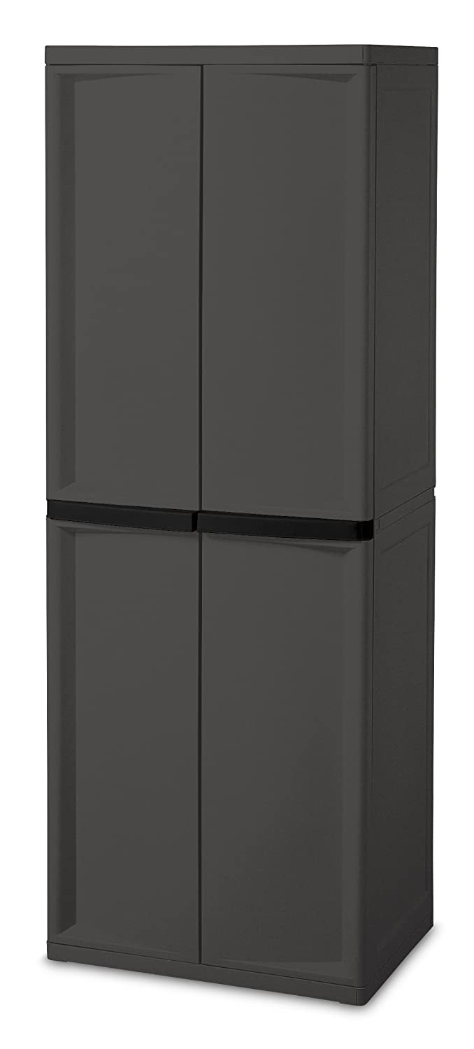 tall small size cupboard garage rubbermaid storage with of closet plastic platinum shelf putty sterilite large cabinets organizing utility big cabinet lowes cupboards handles corner mail