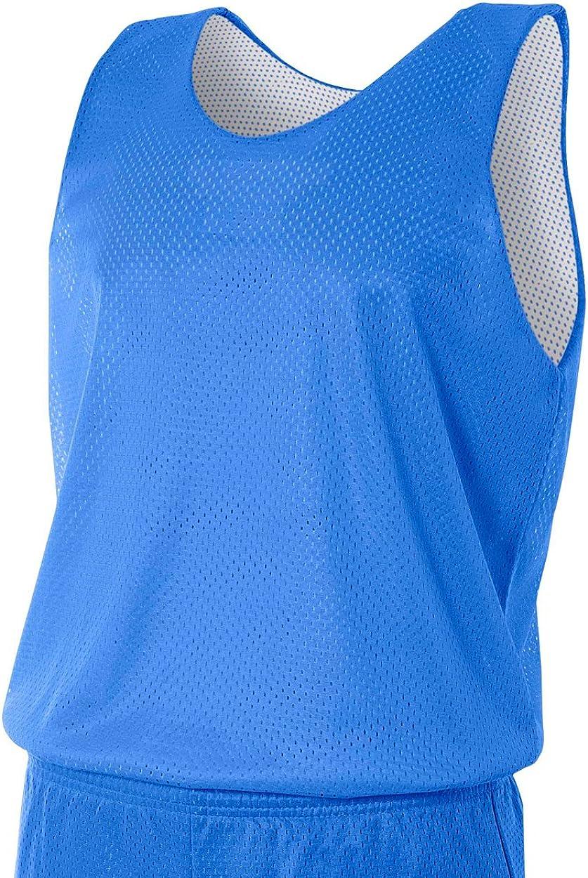 A4 de Hombre nf1270 nf1270-row Reversible Malla Camiseta de Tirantes: Amazon.es: Deportes y aire libre