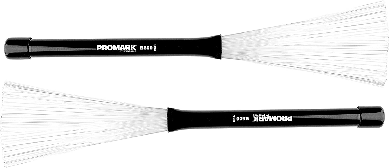 Promark B600 Nylo-Brush Nylon-Bristle Retractable Brushes