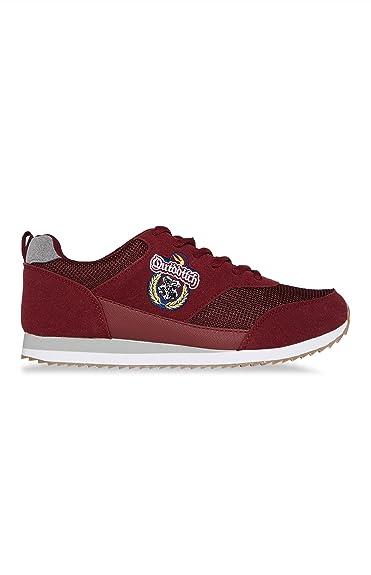ef9e4dccd2 Primark , Damen Sneaker Rot Burgunderfarben, Rot - Burgunderfarben - Größe:  40 EU