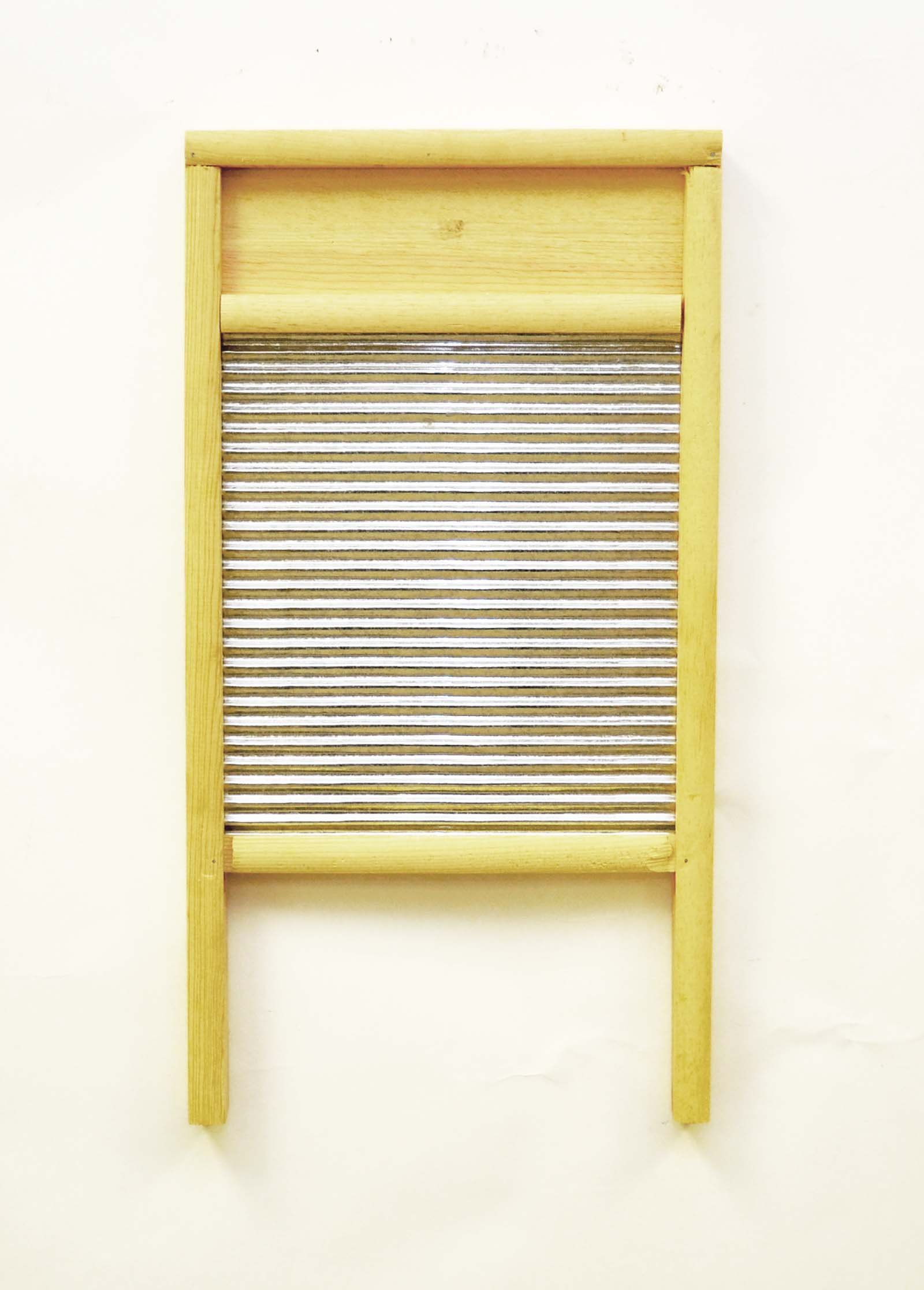 Large Washboard with Tin-23.5 Inches High X 12.5 Inches Wide