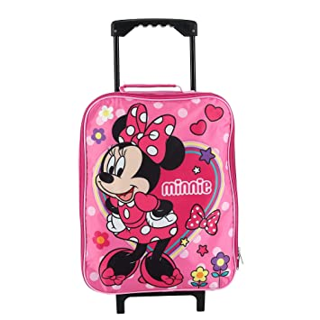 Amazon.com: Disney Minnie Mouse - Maleta con ruedas para ...