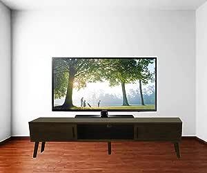 طاولة تلفيزيون لون بني غامق عرض 120 سم