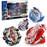 OBAST Beyblade Burst 4D Set with Launcher and Fusion Classic Toys for Kid Christmas Gift