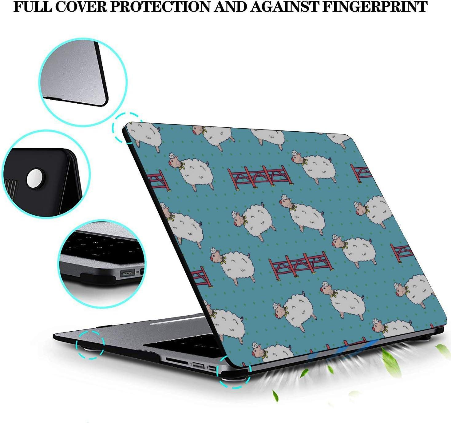 Case MacBook Pro 13 Sheep Retro Wild Animal Naturel Plastic Hard Shell Compatible Mac Air 11 Pro 13 15 MacBook Pro Case Protection for MacBook 2016-2019 Version