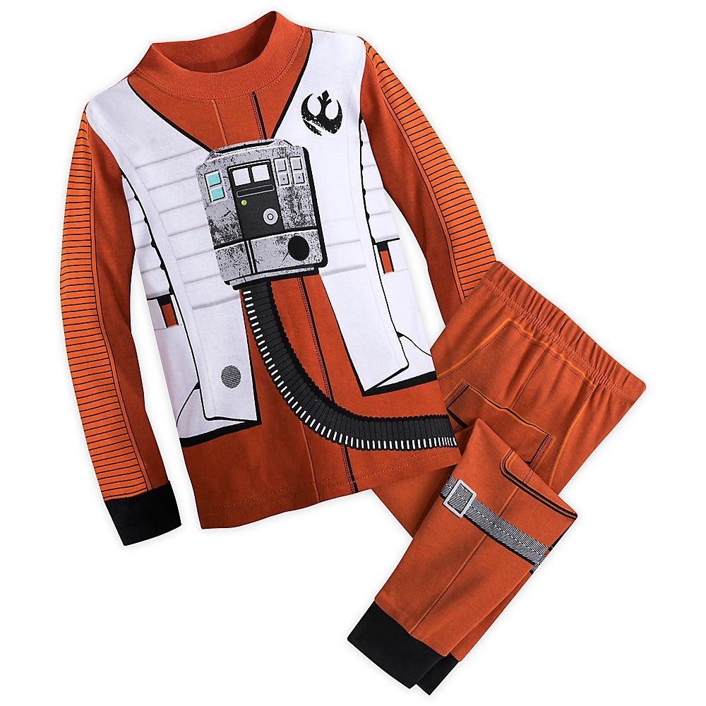 Star Wars Poe Dameron Costume PJ Set for Kids - Star Wars: The Last Jedi Size 2