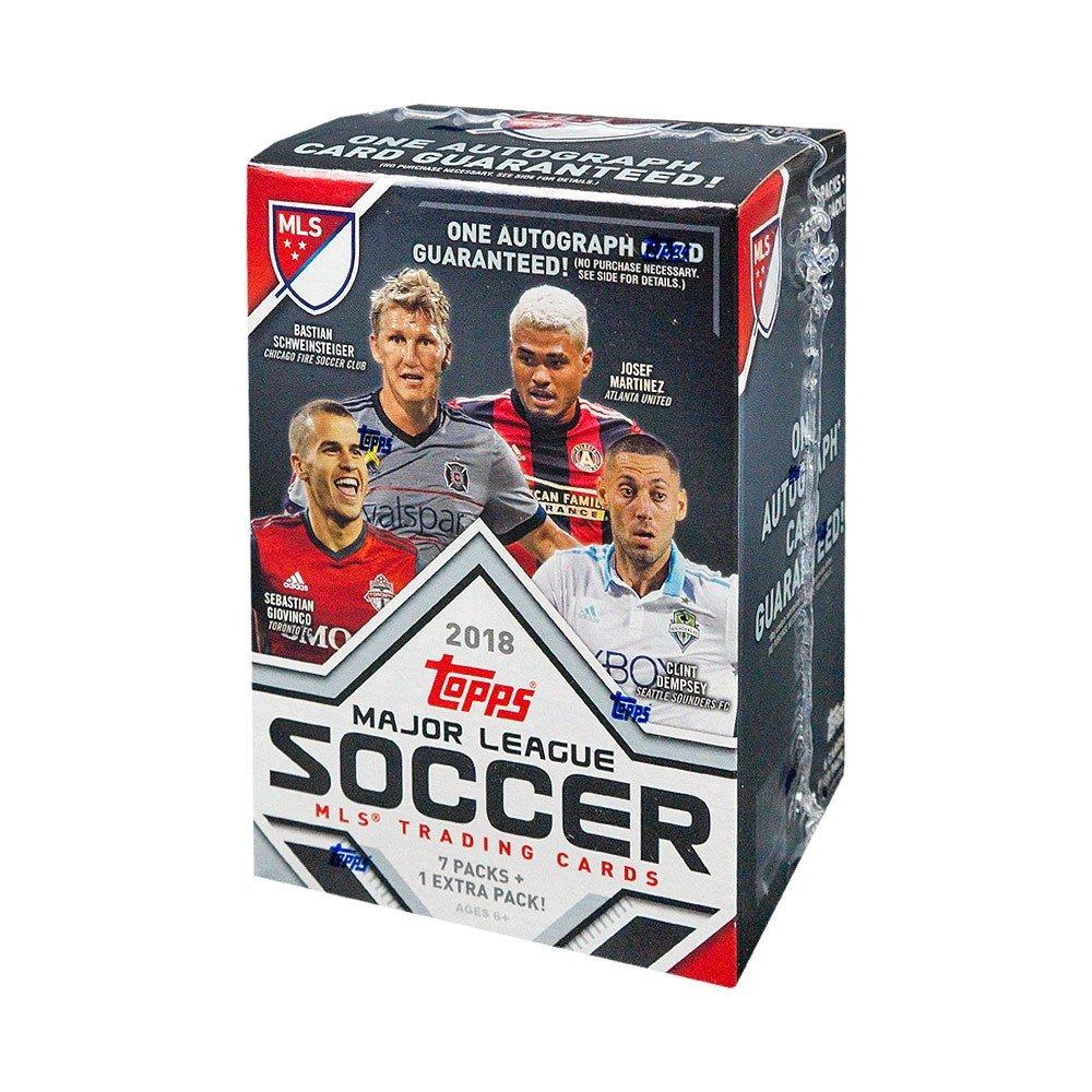 2018 Topps MLS Soccer 8ct Blaster Box