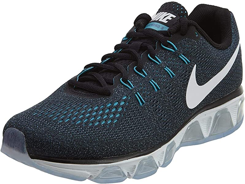 uk availability 0d824 342fd AIR Max Tailwind 8 Mens Running-Shoes 805941-005_7 - Black/White-Ocean  Fog-Gamma Blue