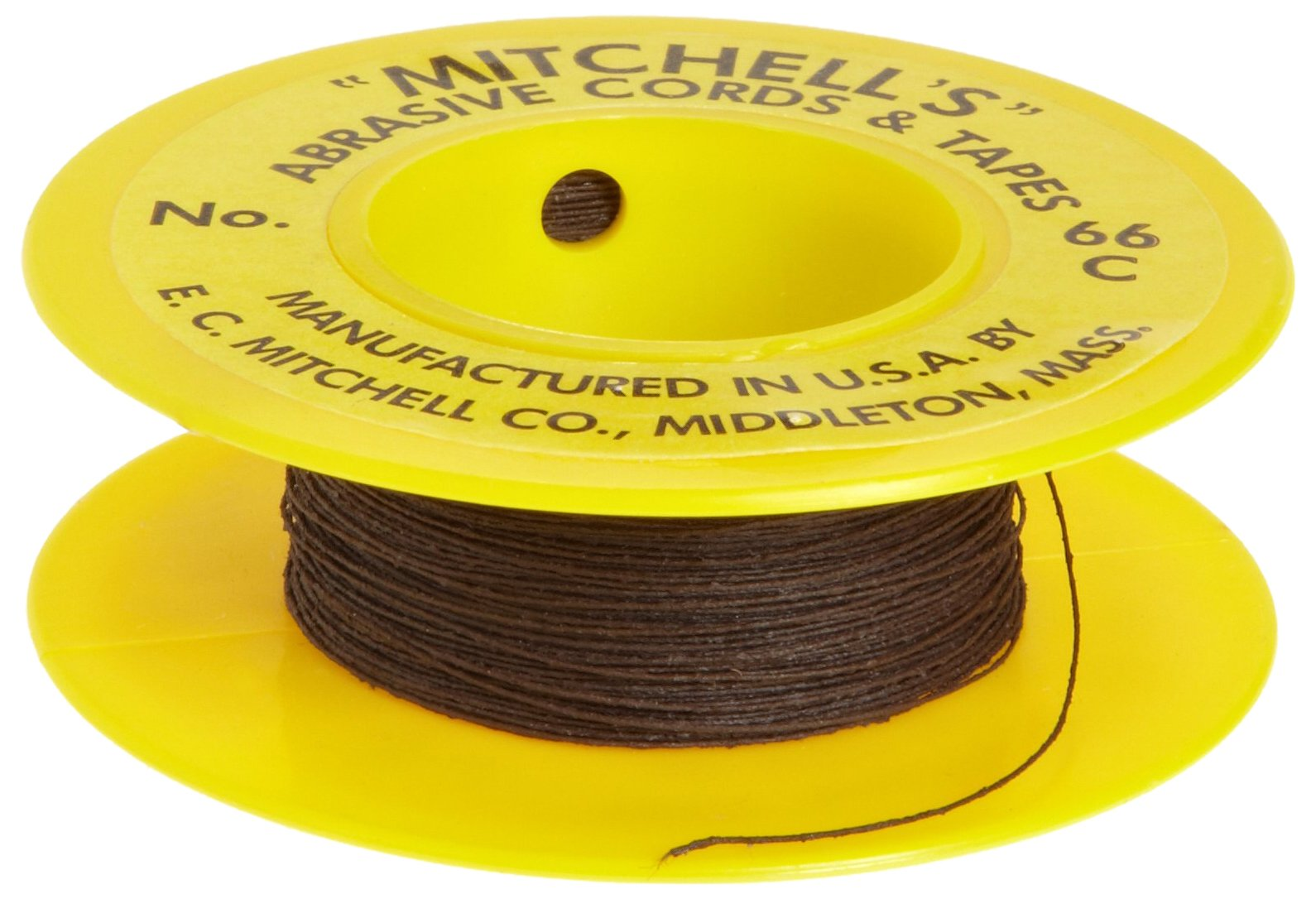 Mitchell Abrasives 66-C Round Crocus Polishing Cord, .012'' Diameter x 25 Feet
