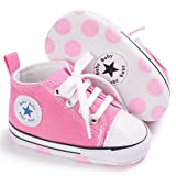 Toddler Girls Boys Canvas Shoes Soft Sole First