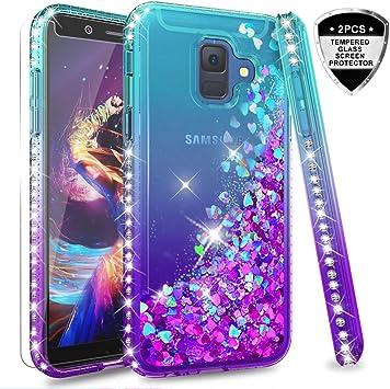 LeYi Compatible with Funda Samsung Galaxy A6 2018 Silicona ...