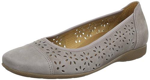 Comfort Gabor visone Donna grau 6265123 Ballerine Shoes Grigio 15vqxw5HT