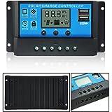 Mohoo Intelligent Accueil 20A 12V / 24V LCD charge panneau de charge solaire contrôleur avec port USB