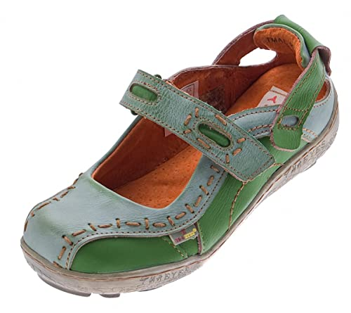 Eyes 1 Chaussures Femme Ballerine Pression Sandales Taille 36–42 Pour Tma Journal Couleurs En Plusieurs Cuir 1601 5LqjRA34