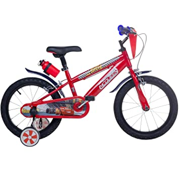 16 Inch Disney Cars Children\'s Bicycle: Amazon.co.uk: Sports & Outdoors