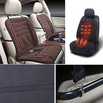 Sedeta almohadilla de calefacción del coche Calentador eléctrico de invierno Funda de cojín del asiento de