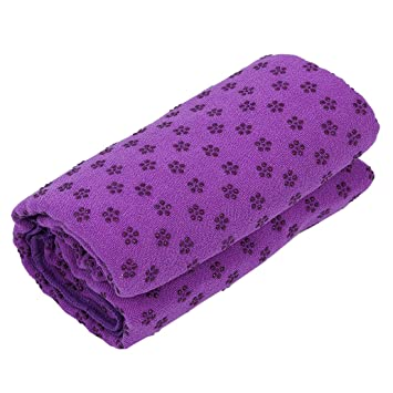 RETYLY Toalla Hot Yoga Mat Antideslizante Manta con Los ...