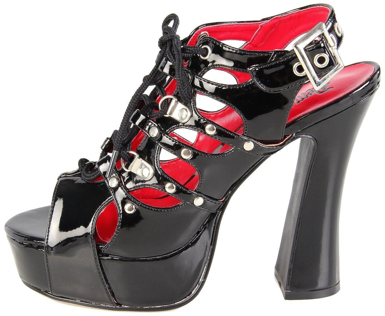 Demonia Gothic Barock Plateau-Pumps Demon-17 schwarz Gr. 37: Amazon.de:  Schuhe & Handtaschen