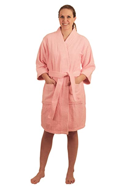 NDK New York Women s Terry Cloth Short Robe  Amazon.ca  Clothing    Accessories 20a13a14c