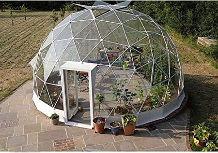 ZYJFP Tienda Al Aire Libre Transparente, La Bóveda del Transparente del Garden Igloo Tienda de campaña Patio Trasero Que Acampa De La Familia Jardín,6Diameter: Amazon.es: Hogar