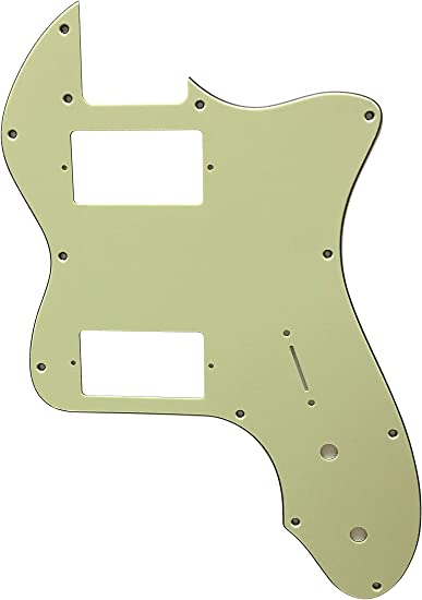 For Fender Professional Tele Deluxe Humbucker Style Guitar Pickguard Scratch Plate 3 Ply Black