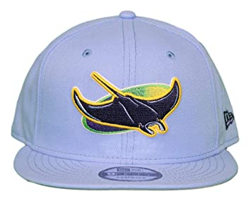 new concept 552f2 a0019 Image Unavailable. Image not available for. Color  New Era Tampa Bay Rays  9FIFTY MLB Alternate Logo Pack Snapback Hat