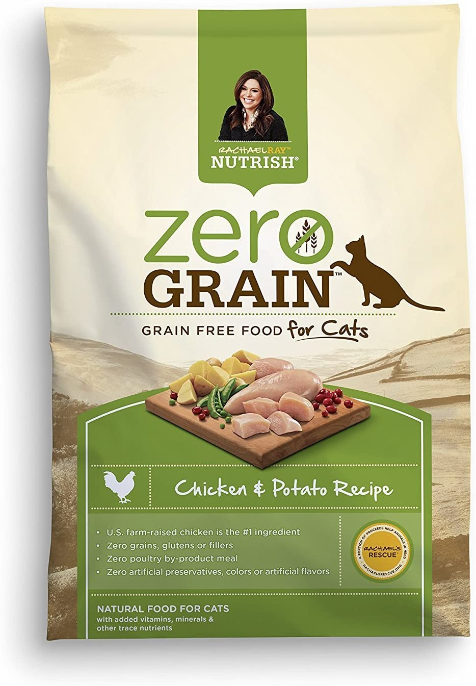 Rachael Ray Nutrish Zero Grain Indoor Dry Cat Food Image