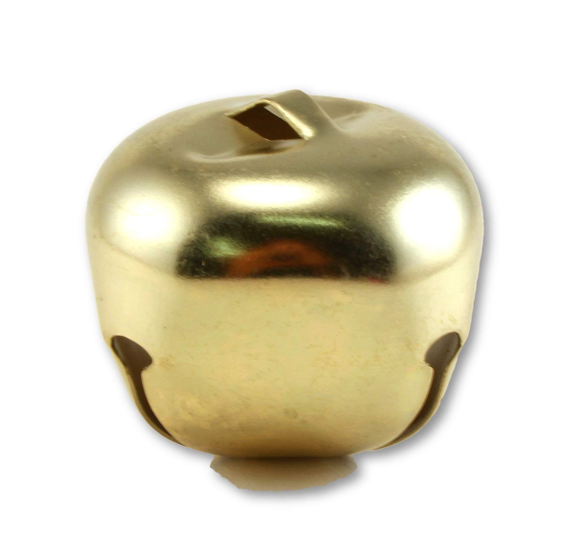 2 Inch 51mm Gold Large Jingle Bells Bulk 100 Pieces
