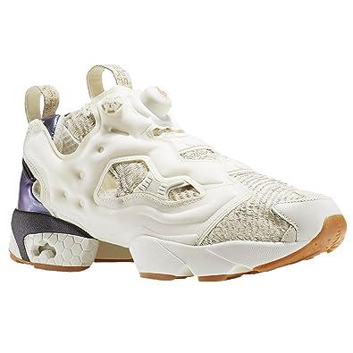 1cf075b345b Reebok Instapump Fury CNY17 White Fashion Sneakers Mens Athletic Shoes Size  9 New