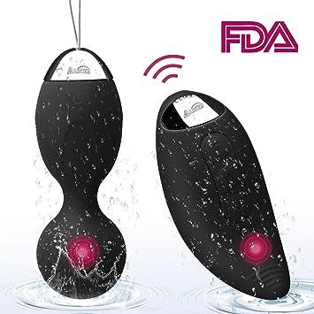 4a8532ff4 Kegel Exercise Ben Wa Balls Sets 10 Modes Massage Egg Remote Control  Vibrator for Women-