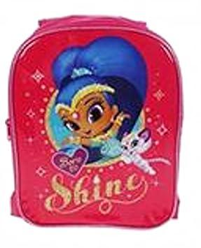 Shimmer and Shine Reversible Backpack Mochila infantil, 31 cm, 6 liters, Rosa (Pink): Amazon.es: Equipaje